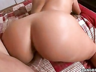 lusty tanned momma claudia valentine receives a